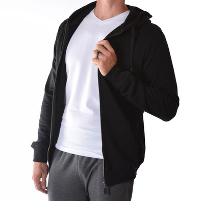tall-hoodies-for-men-black-fitted-zip