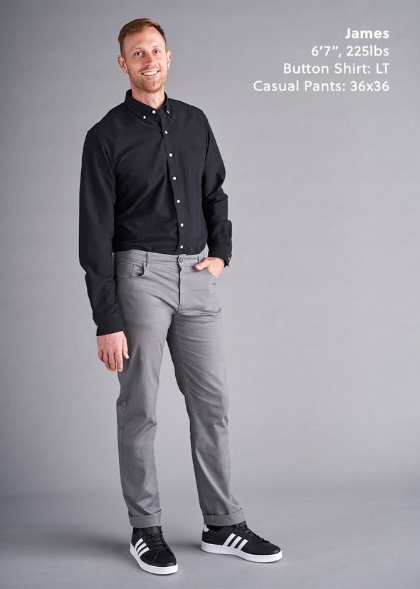 tall-mens-casual-pants-charcoal-gray
