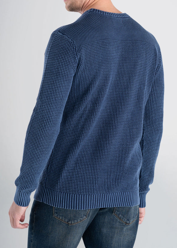 Longjohnandsons-americantall-mens-acidwash-knitsweater-navy-back
