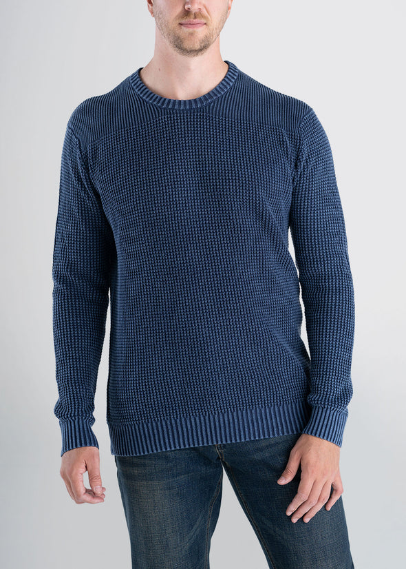 Longjohnandsons-americantall-mens-acidwash-knitsweater-navy-front.