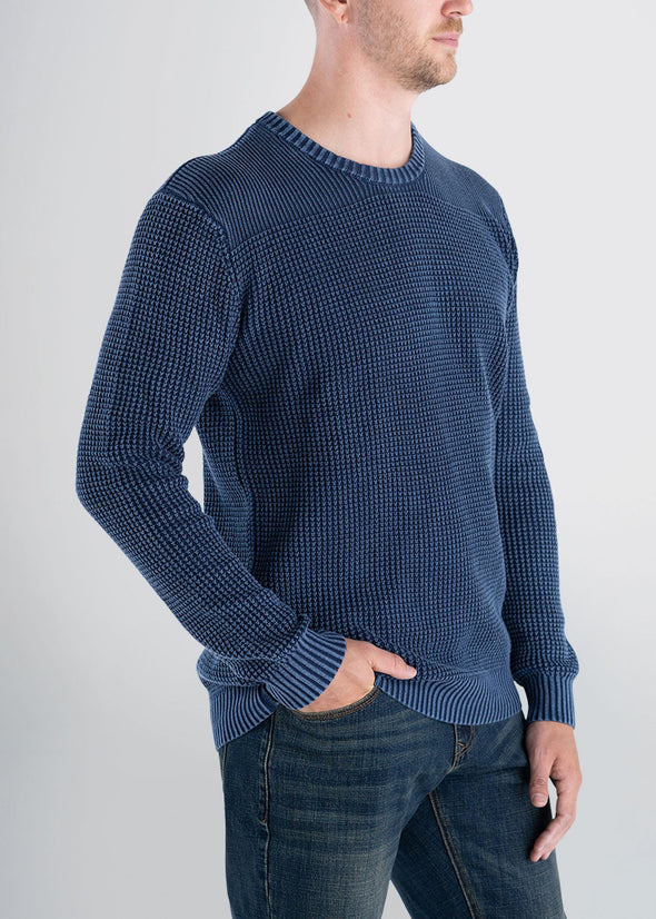 Longjohnandsons-americantall-mens-acidwash-knitsweater-navy-side