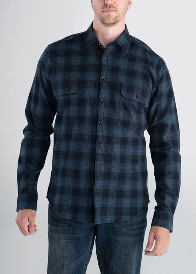 Longjohnandsons-americantall-mens-heavyflannel-spruceblue-front