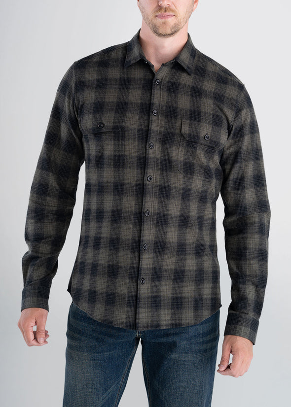 Longjohnandsons-americantall-mens-heavyflannel-surplusgreen-front