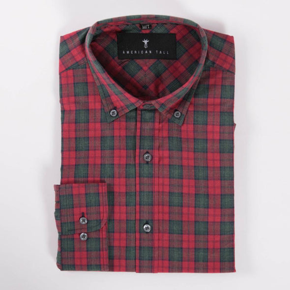 tall-button-up-shirts-for-tall-guys-american-tall-soft-wash-bonfire-red-plaid