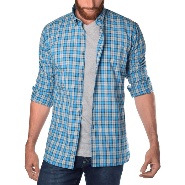 american-tall-mens-shirts-for-tall-guys-soft-wash-seaport-blue-plaid