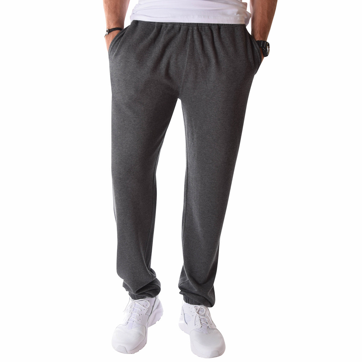superior materials shop for sneakers Men's Tall French Terry Sweatpants in Charcoal Mix -