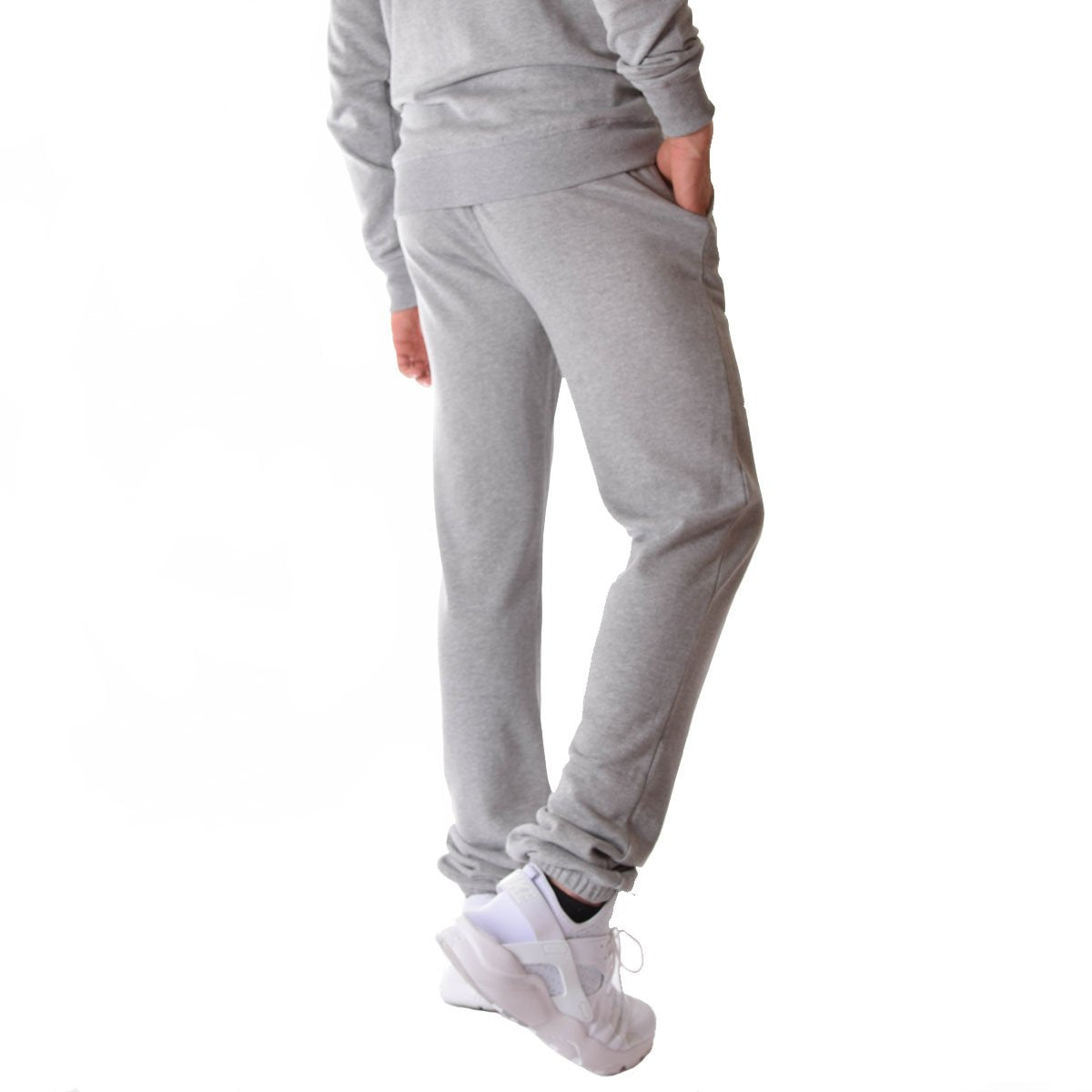 numerousinvariety search for clearance coupon codes Men's Tall French Terry Sweatpants in Grey Mix -