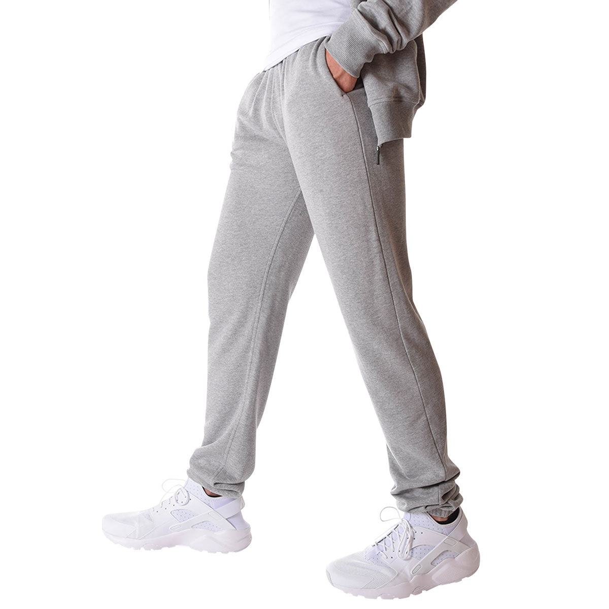 new matching in colour look good shoes sale Men's Tall French Terry Sweatpants in Grey Mix -