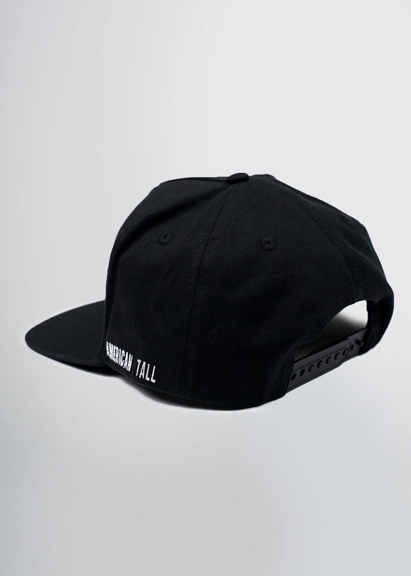 american-tall-flat-brim-hat-black-back