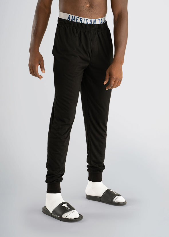 american-tall-lounge-jogger-black-front