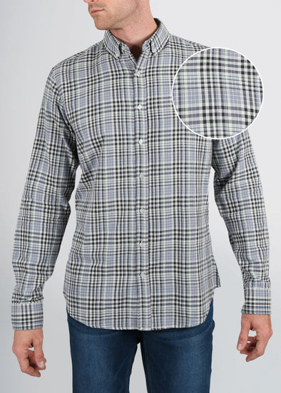 american-tall-mens-double-weave-greyplaid-frontswatch