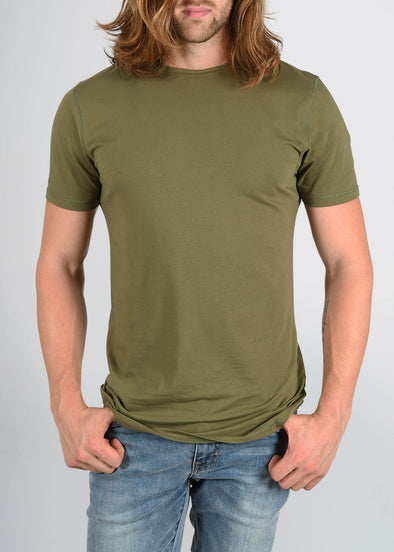 american-tall-mens-essential-slim-crewneck-olive-green-front