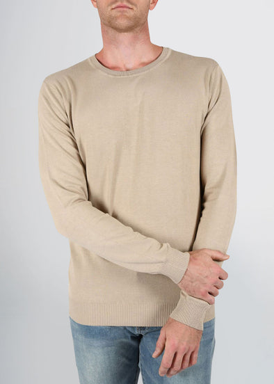 american-tall-mens-fitted-crew-sweater-barley-front