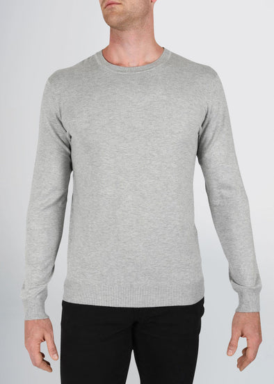 american-tall-mens-fitted-crew-sweater-greymix-front