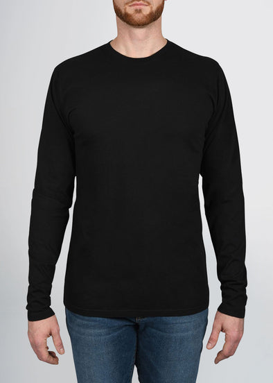 american-tall-mens-garment-dyed-crew-longsleeve-black-front