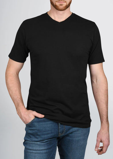 american-tall-mens-garment-dyed-v-tee-black-front