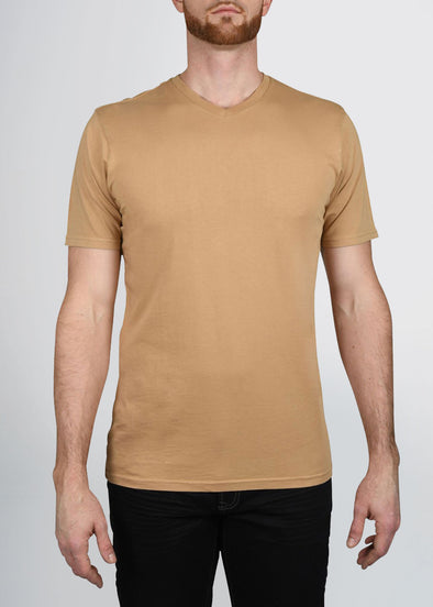 american-tall-mens-garment-dyed-v-tee-camel-front