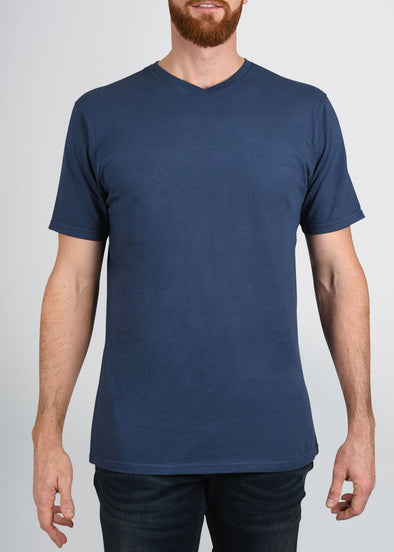 american-tall-mens-garment-dyed-v-tee-navyblue-front