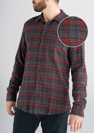 american-tall-mens-lightweightflannel-sumacgrey-frontswatch