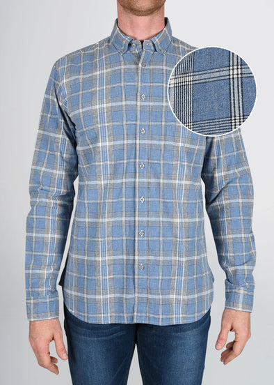 american-tall-mens-nelson-chambray-plaid-frontswatch