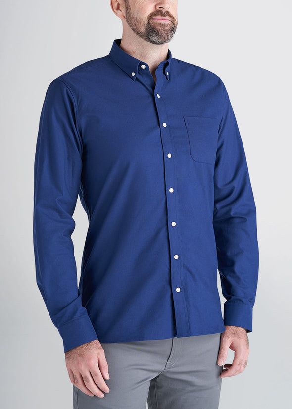 american-tall-mens-oxford-blue-front
