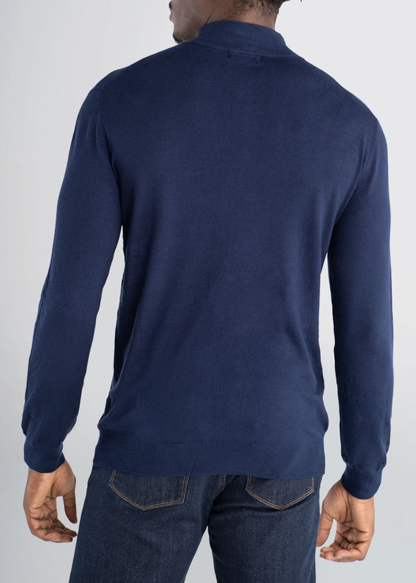 american-tall-mens-quarterzip-sweater-navy-back