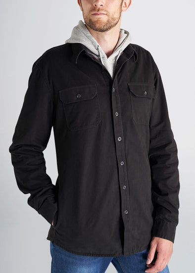 american-tall-mens-shirt-jacket-black-front