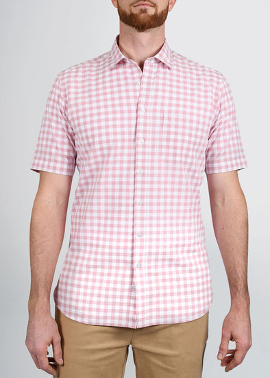 american-tall-mens-shortsleeve-coral-check-front