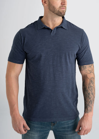 american-tall-mens-slub-polo-navy-front