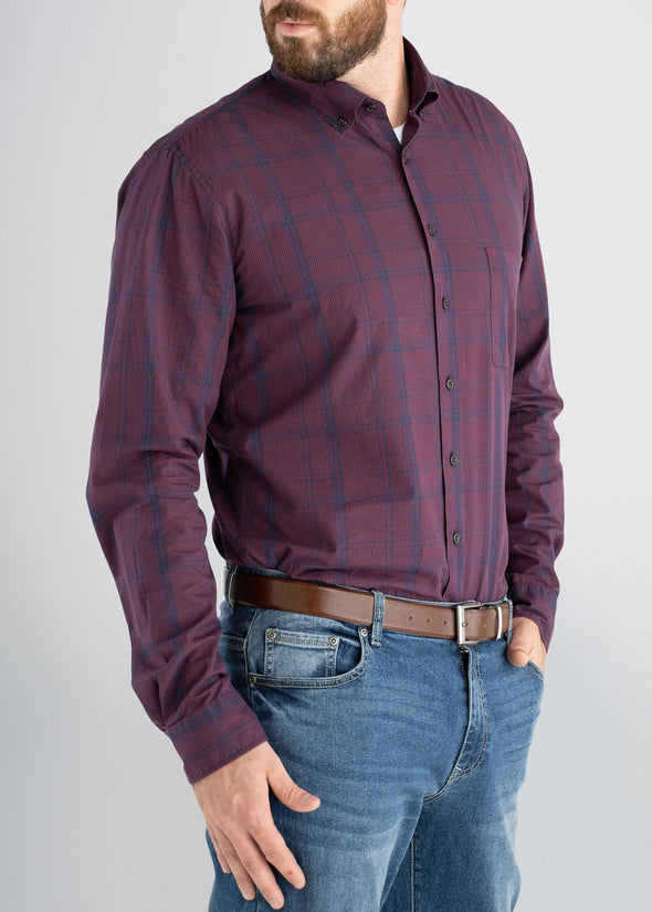american-tall-mens-softwash-maroonnavy-side