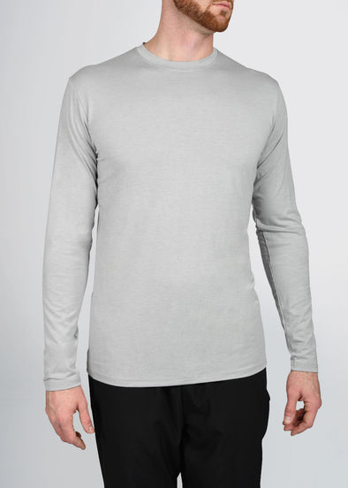 american-tall-mens-triblend-longsleeve-grey-front