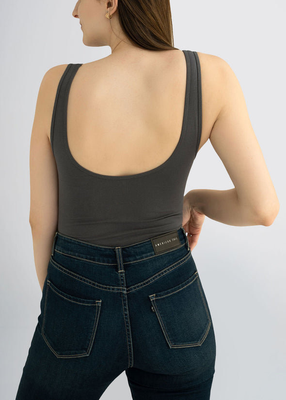 american-tall-womens-bodysuit-charcoal-back