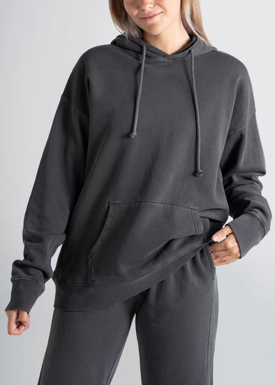 american-tall-womens-garment-dyed-hoodie-charcoal-front