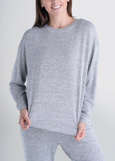 american-tall-womens-lounge-crewneck-greymix-front