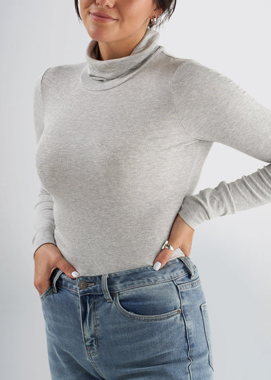 american-tall-womens-ribbed-turtleneck-grey-front