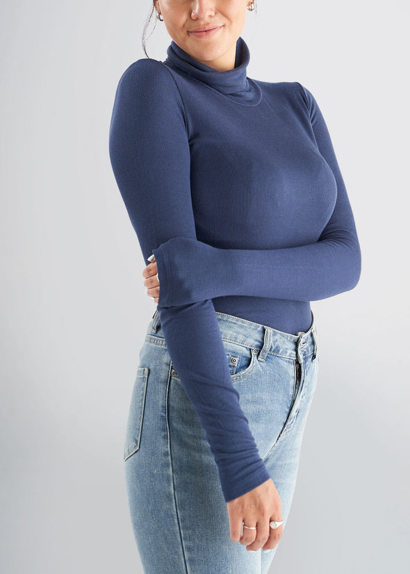 american-tall-womens-ribbed-turtleneck-navy-side
