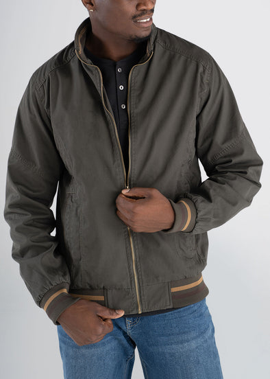 americantall-cotton-bomber-olivegreen-front-zip
