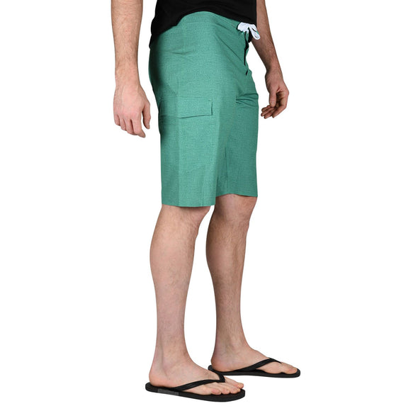 mens-board-shorts-leaf-green