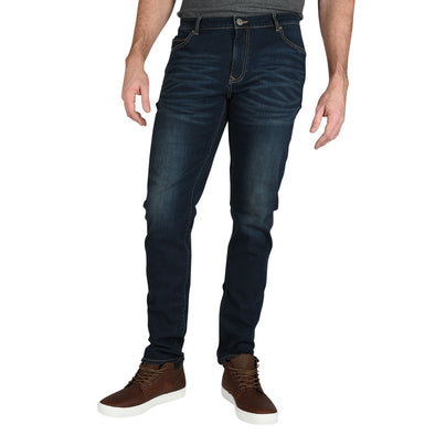 Carman TAPERED-FIT Brennan Wash Tall Men's Jeans (Comfort Denim)
