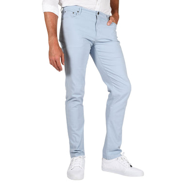 Carman TAPERED-FIT Men's Tall Pants in Chambray