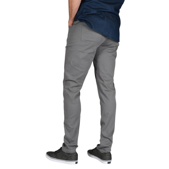 tapered-fit-pants-for-tall-guys-charcoal