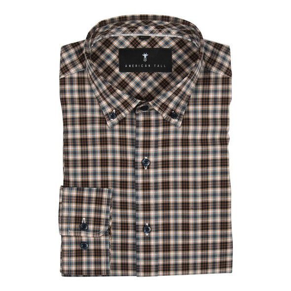 tall-mens-shirt-espresso-mint-plaid