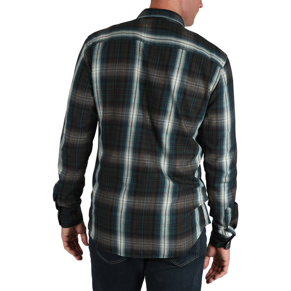 mens-tall-slim-fit-shirt-teal-plaid