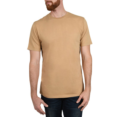 Garment Dyed REGULAR-FIT Tall Crew Neck Tee (Pre-Shrunk) | Camel