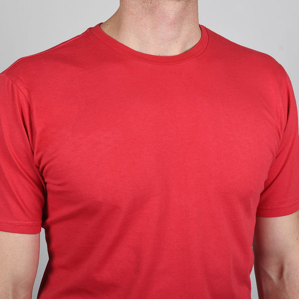 coral-red-crew-neck-tee