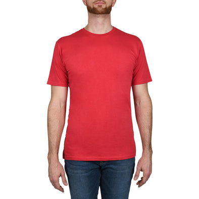 Garment Dyed REGULAR-FIT Tall Crew Neck Tee (Pre-Shrunk) | Coral Red