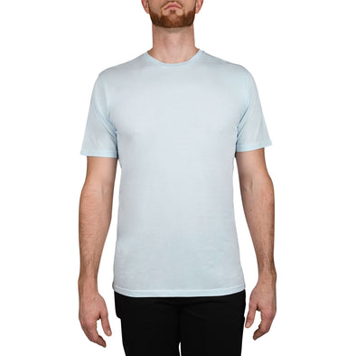 Garment Dyed REGULAR-FIT Tall Crew Neck Tee (Pre-Shrunk) | Ice Blue