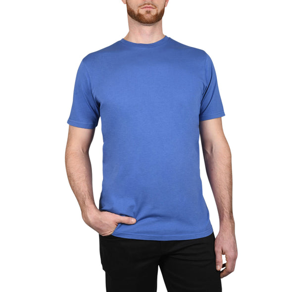 Garment Dyed REGULAR-FIT Tall Crew Neck Tee (Pre-Shrunk) | Marine Blue