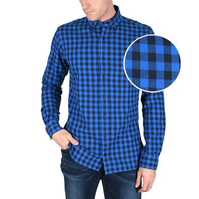 tall-mens-heavy-flannel-shirt-blue-check