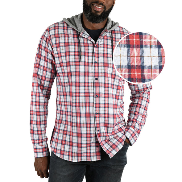 mens-red-hooded-flannel-shirt